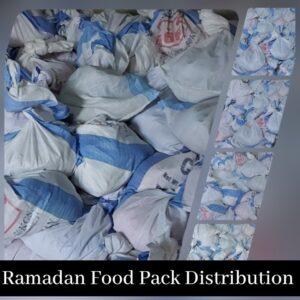 Ramadan Food Pack Distribution